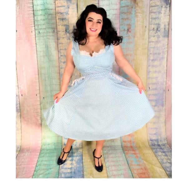 Heart of Haute Dresses & Skirts - Heart of Haute Sadie Gingham Dress Pinup Vintage